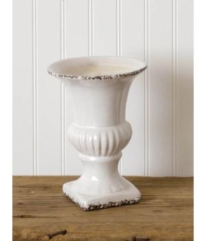 Pottery - Crackle Urn, Lg