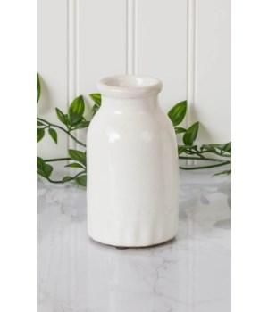 Pottery - Bud Vase Milk Bottle