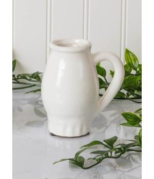 Pottery - Bud Vase With Handle