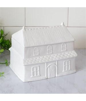 Cottage House Cookie Jar