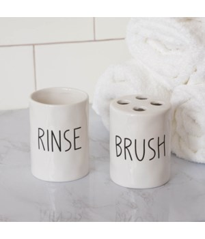 Toothbrush & Rinse Cups