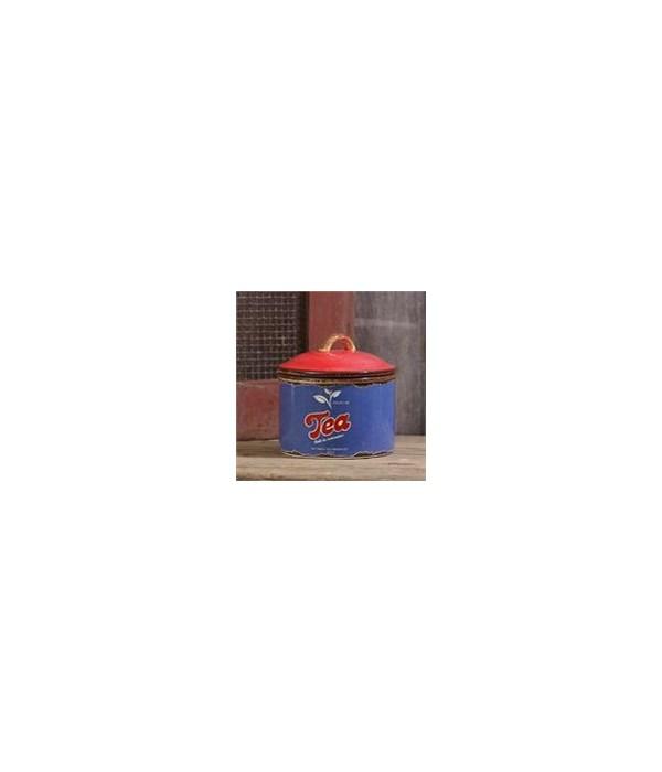 Retro Ceramic - Tea Canister 5.5 in. x 5 in.