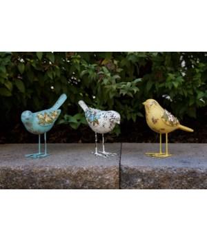 Vintage Birds W/Flowers