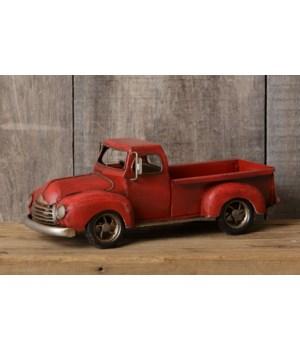 Vintage Truck - Red