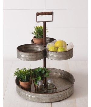 Tiered Stand - Triple Top