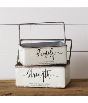Baskets - Strength, Family