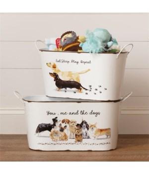Playful Pups - Toy Bins