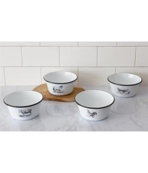 Enamelware – Farm Animal Bowls
