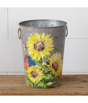 Sunflowers & Butterflies - Bucket (Pk 2)