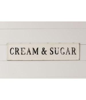 Sign - Cream & Sugar