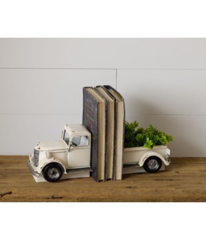 Antiqued Truck Bookends