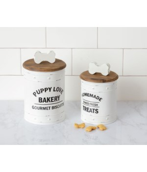 Canisters - Puppy Love Bakery