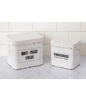 Containers - Fruits, Veggies, Spreads