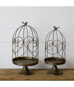 Bird Cages, Brass