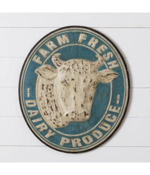 Sign - Farm Fresh Dairy Produce