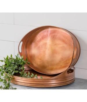 Copper Tray Set