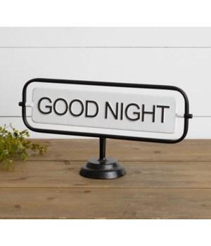 Good Night/Good Day Flip Sign