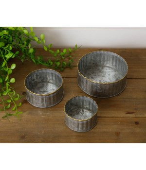 Galvanized Mini Containers With Gold Welding