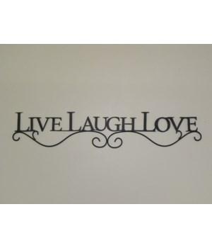 Wall Decor - Inspirational  Live  Laugh  Love