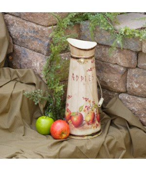 Pitcher - Apples 17 in. x 7 in.