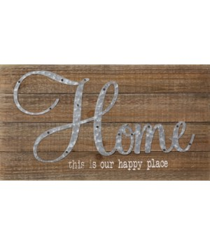 Sign - Home 10 in. x 19 in.