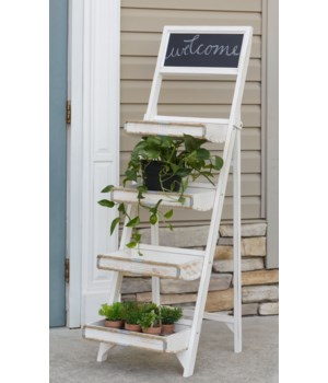 Ladder Shelf - Chalkboard