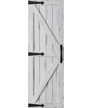 Barn Door - White