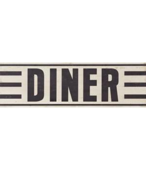 Sign - Diner 9 in. x 30 in.