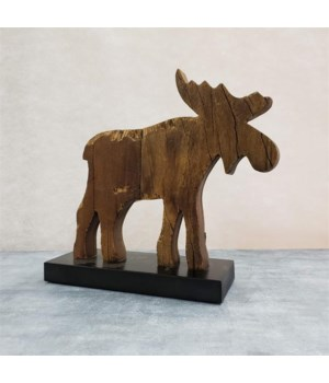 Moose - Standing, Small 10.5 in. x 11 in. x 3.5 in.