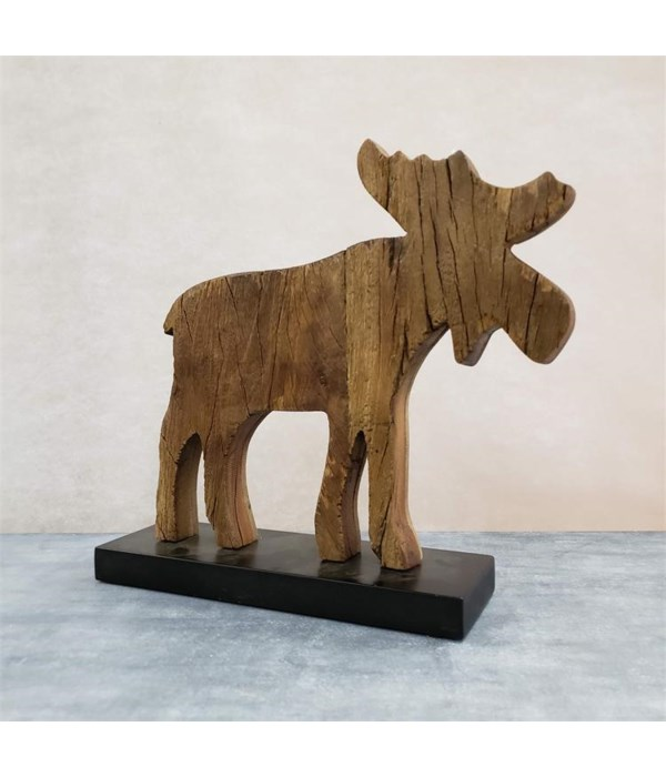 Moose - Standing, Large 12 in. x 13 in. x 3.5 in.