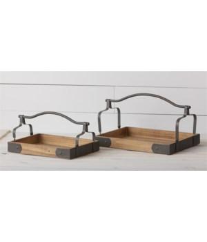 Trays - Metal Handle
