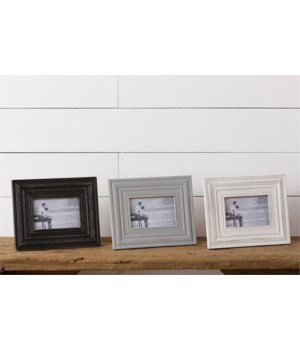 Picture Frames - Distressed, 4 x 6