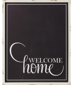 Sign - Welcome Home 20 in. x 16 in.