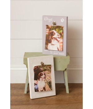 Photo Frames - Paw Prints on Your Heart 10.5 in. x 7 in.