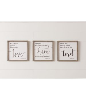 Sign - Love, Lord, Christ