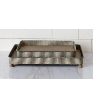 Trays - Corrugated Metal