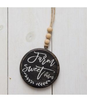 Ornament - Farm Sweet Farm (Pk 2)