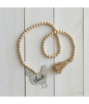 Farmhouse Beads - Chicken