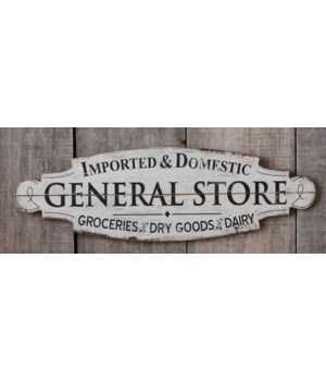 Sign - General Store