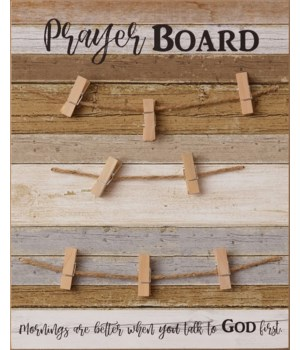 Sign - Prayer Board