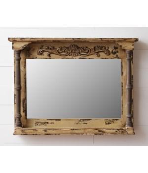 Mirror - Scrolling, Pillars 27.5 in. x 36 in. x 4 in.