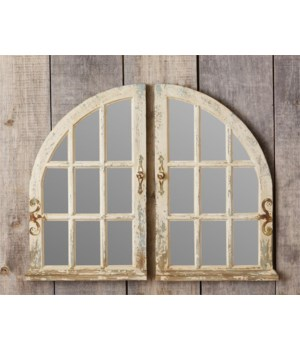 Arched Window Mirrors