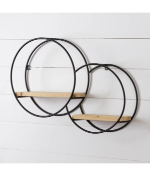 Wall Shelf - Two Circles