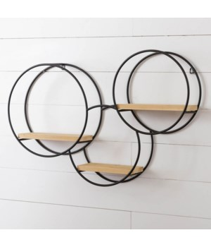 Wall Shelf - Three Circles