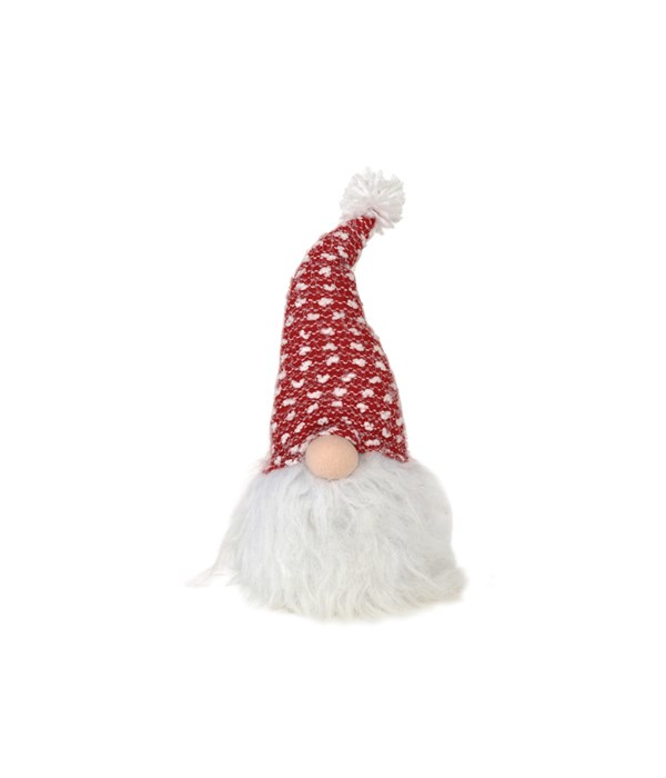 Lighted Plush Santa Gnome