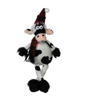Dangle Leg Plush Cow