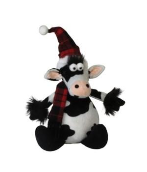 Sitting Plush Cow