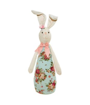 Fabric Standing Rabbit with Long Body