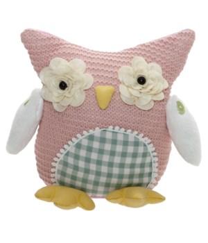 Fabric Owl Doll