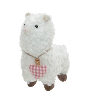 Fabric Llama with Four Legs